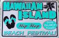 スチール看板 HAWAIIAN ISLAND L