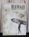 ブリキ看板 HAWAII PRADISE OF THE PACIFIC サーファー
