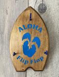 ハンドメイド ウェルカムチビボード ALOHA  Flip Flop