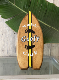 ハンドメイド ウッドサイン Waikiki Goofy Club イエロー