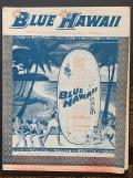 """ヴィンテージコレクション  Sheet Music """"Blue Hawaii"""" Elvis Presley 額入り"""
