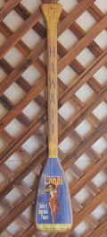 木製看板 パドル型ウッドサイン Beautiful Lanai