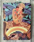 木製看板 フランク・マッキントッシュ The Luau
