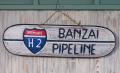 ウッドプレート BANZAI  PIPELINE