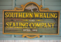 木製看板 SOUTHERN WHALING AND SEALING COMPANY