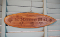 ウッドサイン サーフボードの壁掛け E Koma Maiレリーフ ナチュラル
