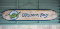 ウッドサイン Waimea Bay ホヌ ブルー