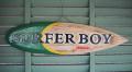 ウッドサイン SURFER BOY HAWAII グリーン