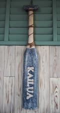 パドル型ウッドサイン KAILUA ブルー