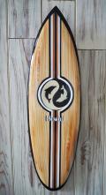 ウッドサイン サーフボードの壁掛け M ドルフィン HAWAII