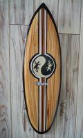 ウッドサイン サーフボードの壁掛け M ゲッコー HAWAII