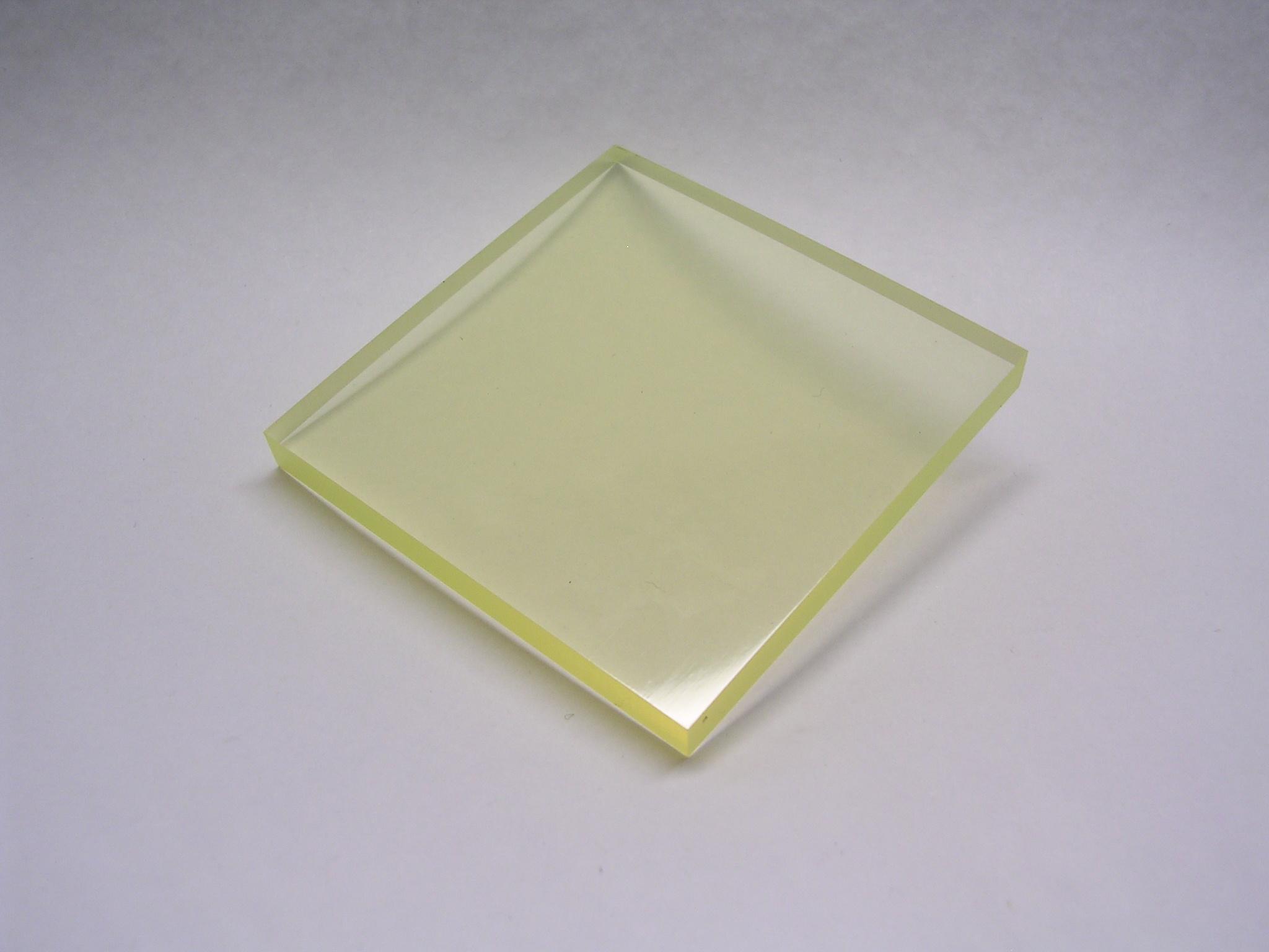 タイガースポリマー ウレタンゴム板 硬度90 UR 50mm×500mm×500mm 角板 タイプレンTR200-90 平角板