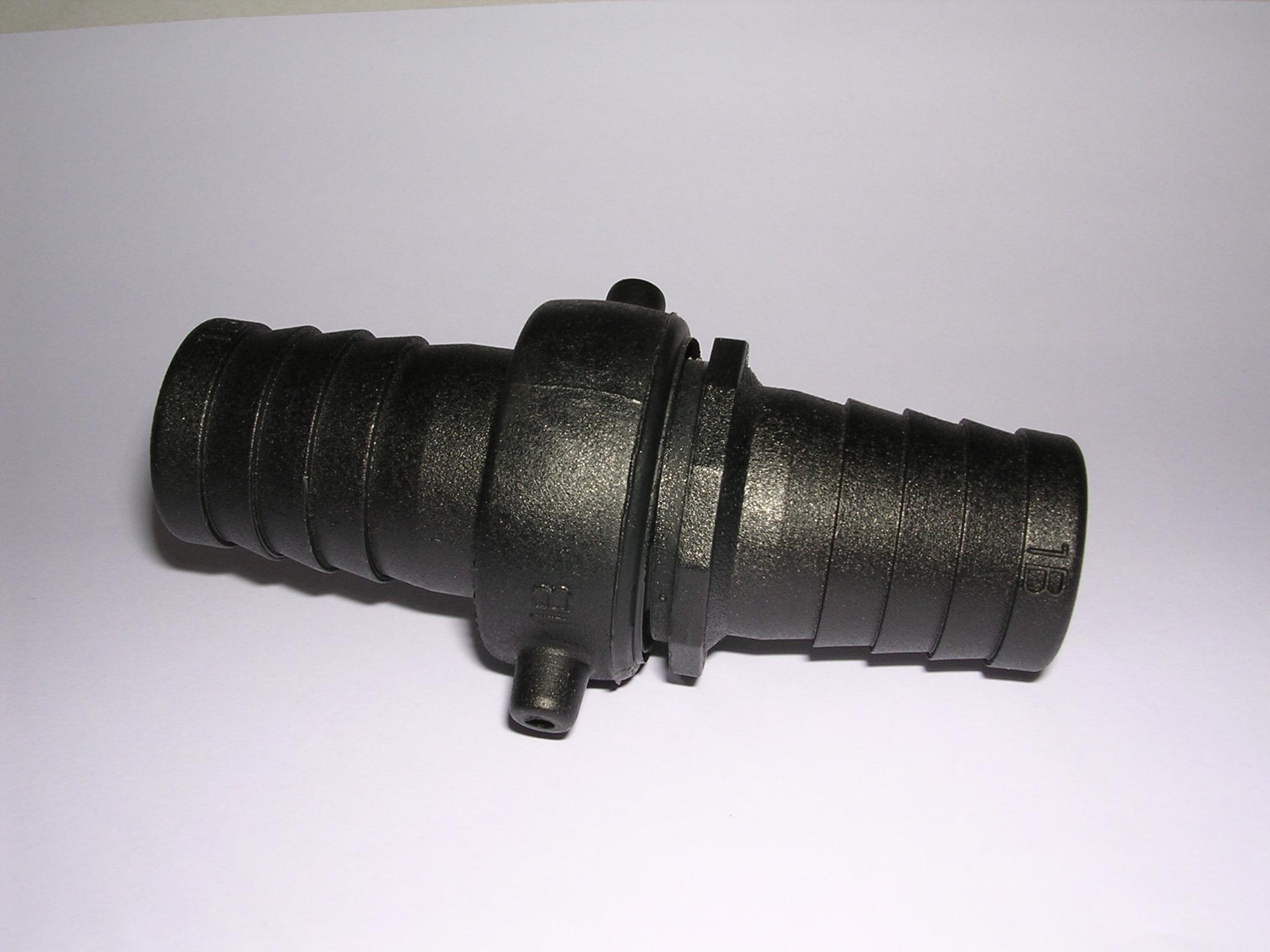 サニーカップH型 25A (口径25mm用ホースxホース延長継ぎ手) 1インチホース継手 樹脂製