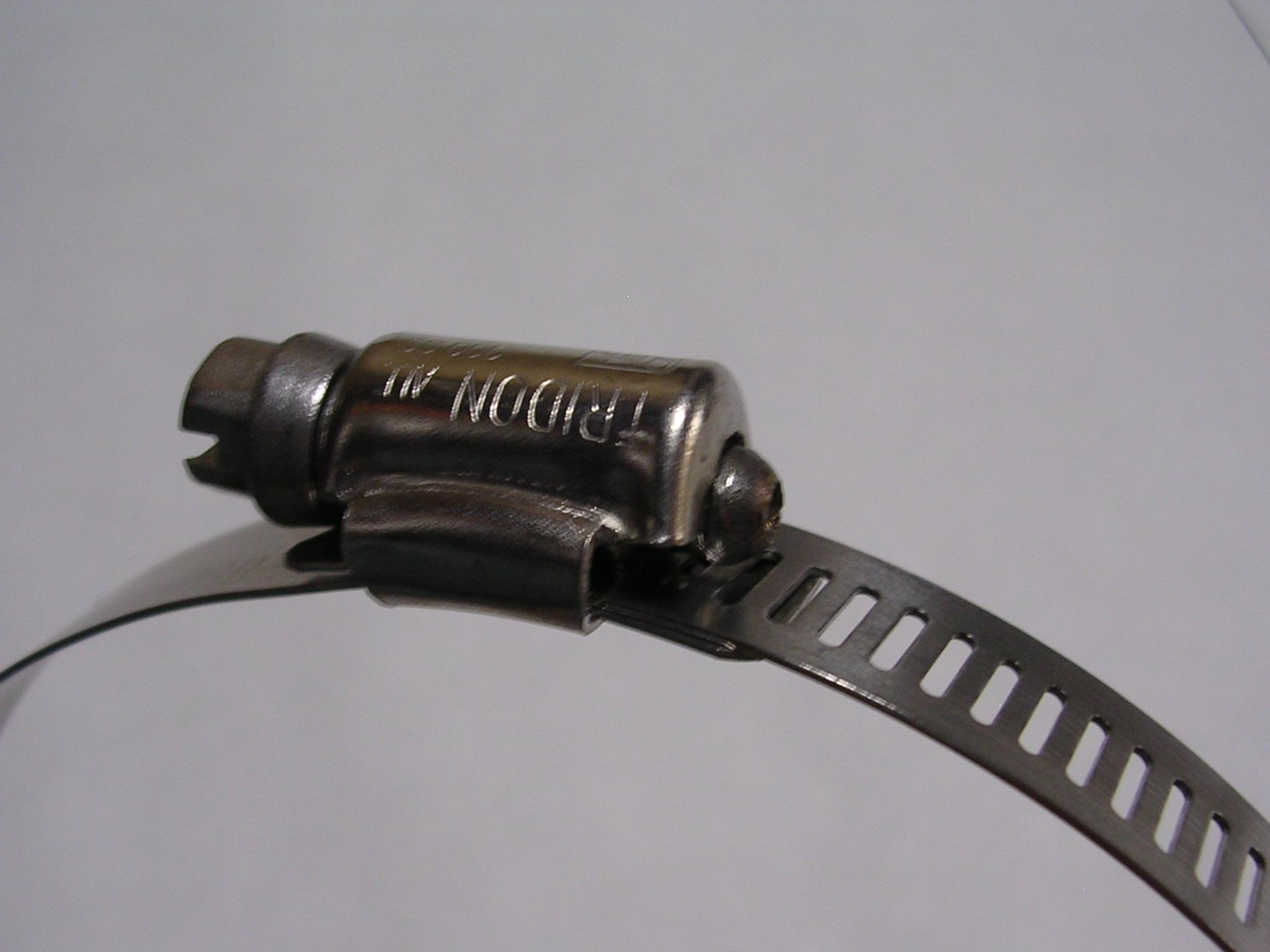TRIDON/トライドンバンド  帯 ステンレス/ねじ 鉄 ホースバンド HS32 40〜63mm
