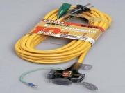 ハタヤ 屋内用 延長コード SX-103K 3個口コンセント