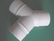 樹脂製分岐Y管(ポリエチレン製) 100mmダクトホース用 グレー (型式 YK100)