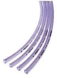 テクノブレード 糸入りブレードホース 32mm (32x41) 長さ50M PVC 国産 プラステク