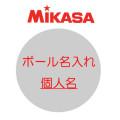 ミカサ ネーム入れ 個人名【ハマノスポーツ】