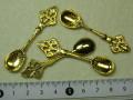 チャーム スプーン  59×20ミリ ゴールド
