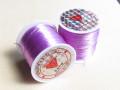 のびるテグス(ブレスレット用) 0.8ミリ (50M巻) 藤紫