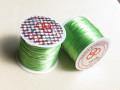 のびるテグス(ブレスレット用) 0.8ミリ (50M巻) 黄緑