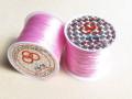 のびるテグス(ブレスレット用) 0.8ミリ (50M巻) ライトピンク