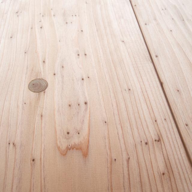 【新】杉 羽目板 (壁・天井材) 節あり (10.3×135×1985mm) 12枚入 1束 (約1坪) ●アイジャクリ加工【5寸・1ト・アイジャクリ】