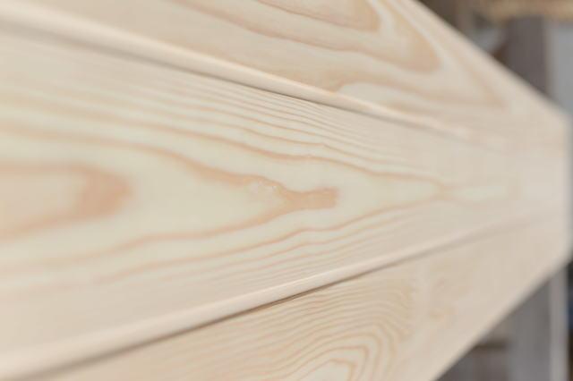 【バラ売り】杉 羽目板 (壁・天井材) 純白・無節 (10×115×1985mm) 1枚●本実目透し加工【4.5寸・1ト・ホ】