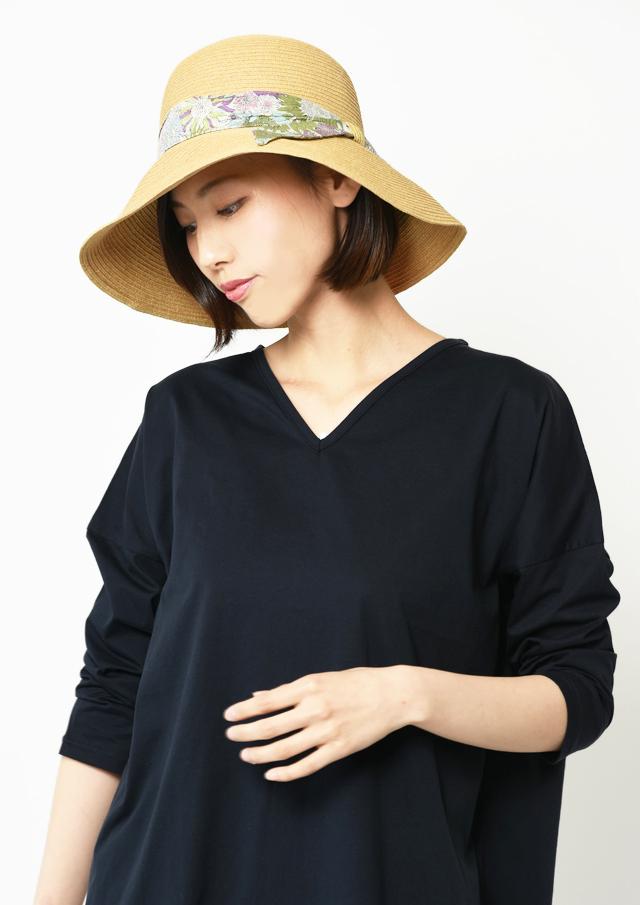 ONLINE_SHOP限定【2019】リバティペーパーブレードウォッシャブルハット【E-25】【27】