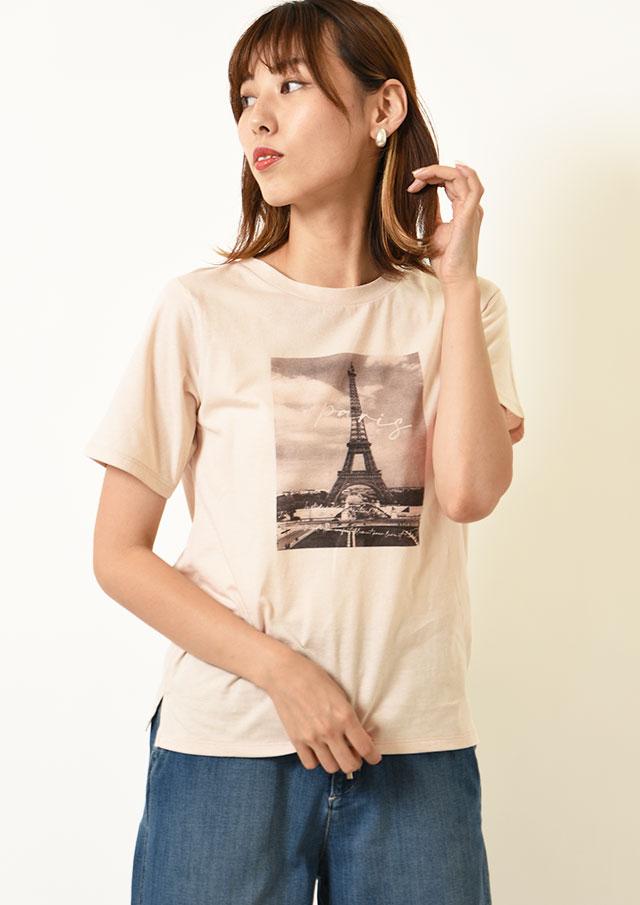 ◇◆パリフォトプリントTシャツ【H7121011】【27】