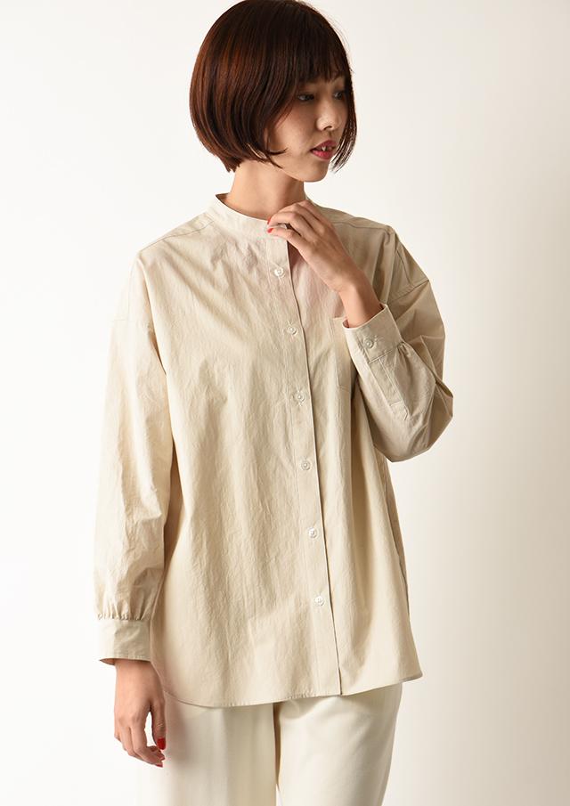 ◆タイプライターバンドカラーシャツ【HB050510】【26】