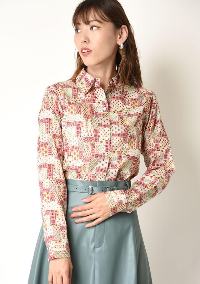 ◆リバティレギュラーシャツ【HB051504】【26】