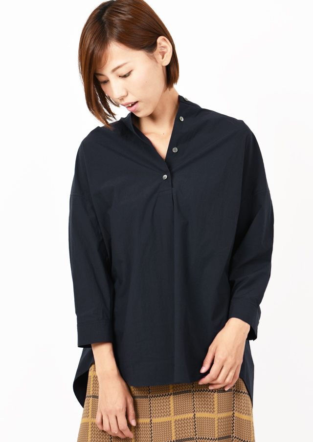 【2019】タイプライタースタンドカラーシャツ【HF5697】【26】