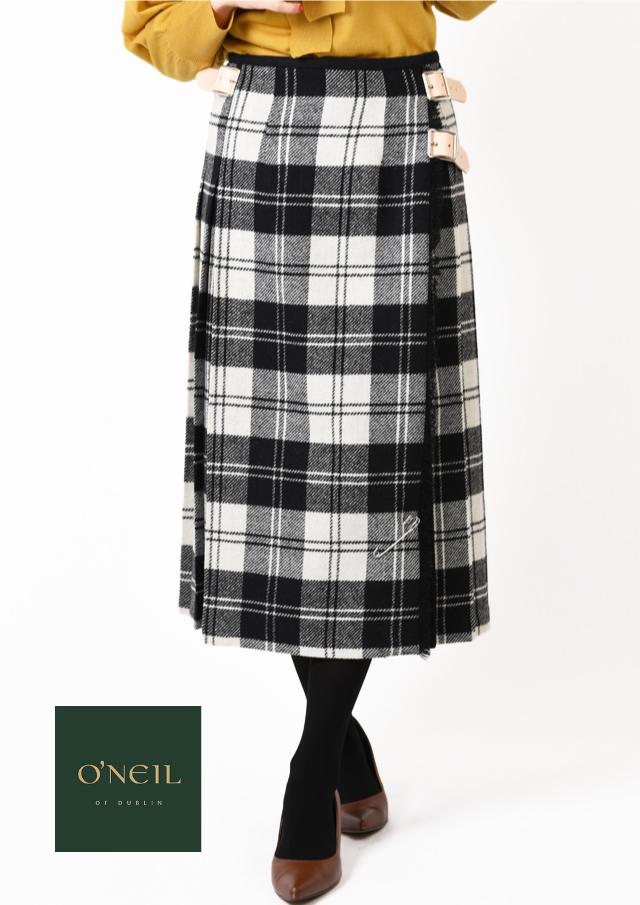 【2019】ONeil_of_Dublin|オニール・オブ・ダブリン|キルトベビーツイードスカート【12575】【26】
