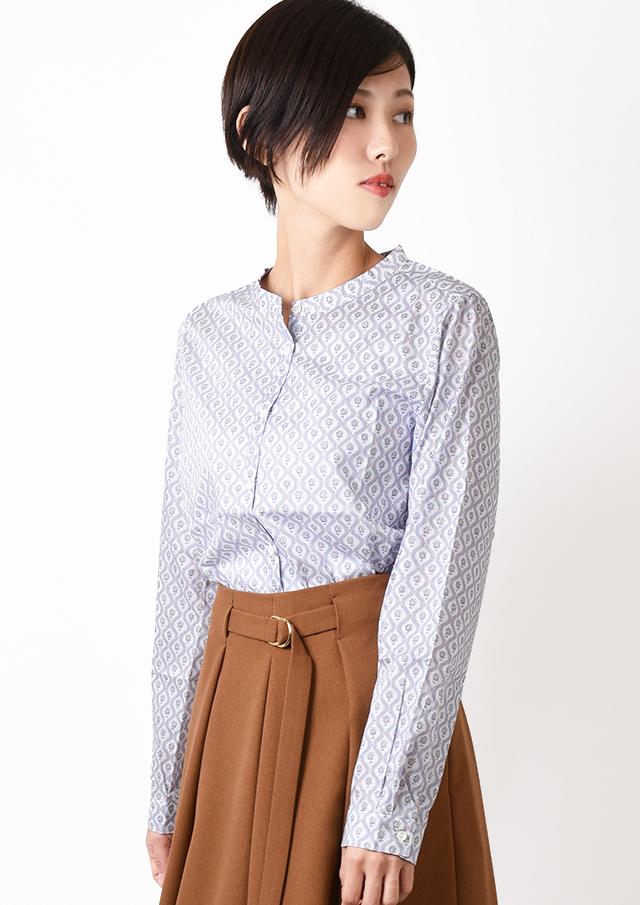 ONLINE_SHOP限定【2019】リバティスタンドカラーシャツ【1932056】【27】