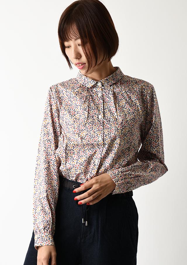【2020】リバティプリントシャツ【2032030】【27】