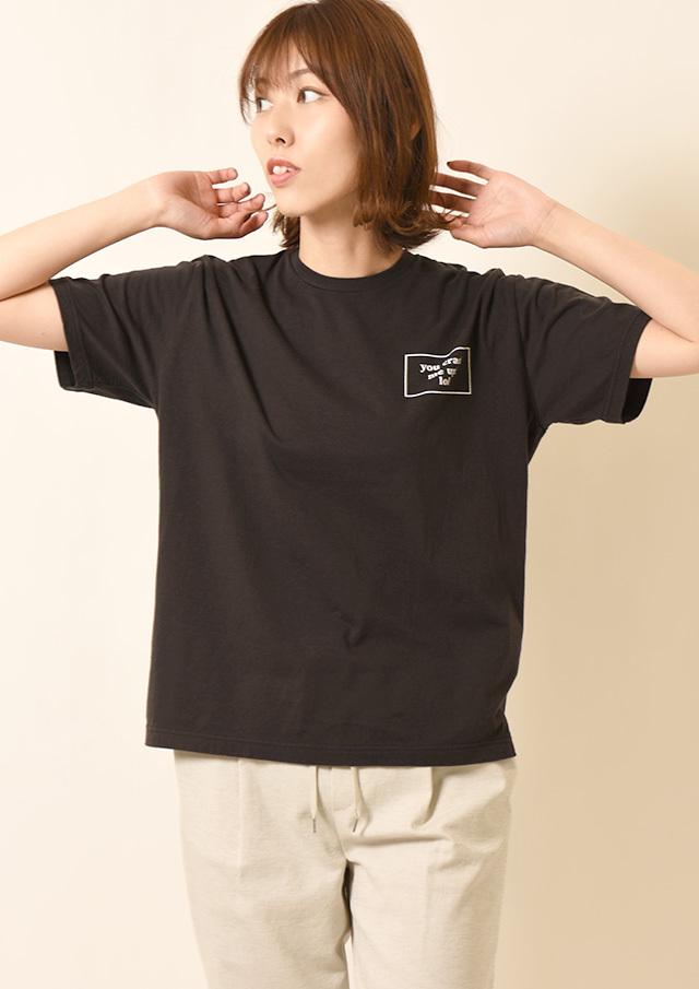 ◆CRACK_ME_UP_ロゴTシャツ【212FT08-R】【26】