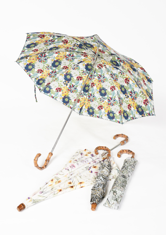 ◆リバティプリント折りたたみ傘【46088】【27】