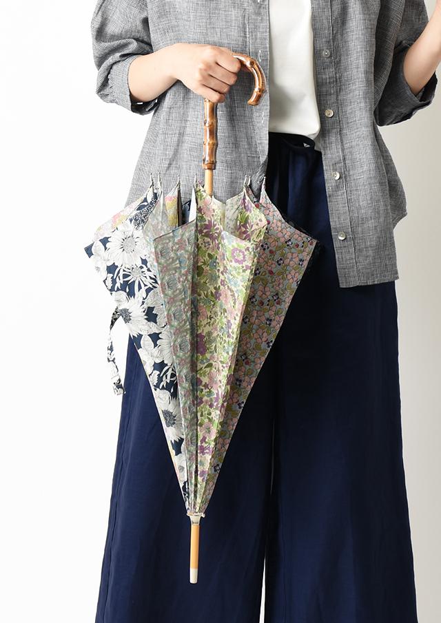 【2020】リバティプリントパッチワーク長傘【49089】【27】