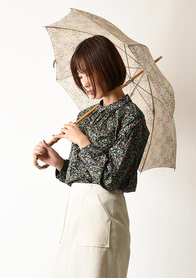 ◆リバティプリント長傘【51078】【27】