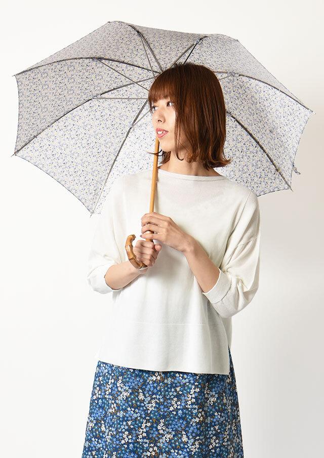 ◆リバティプリント長傘【52055】【27】