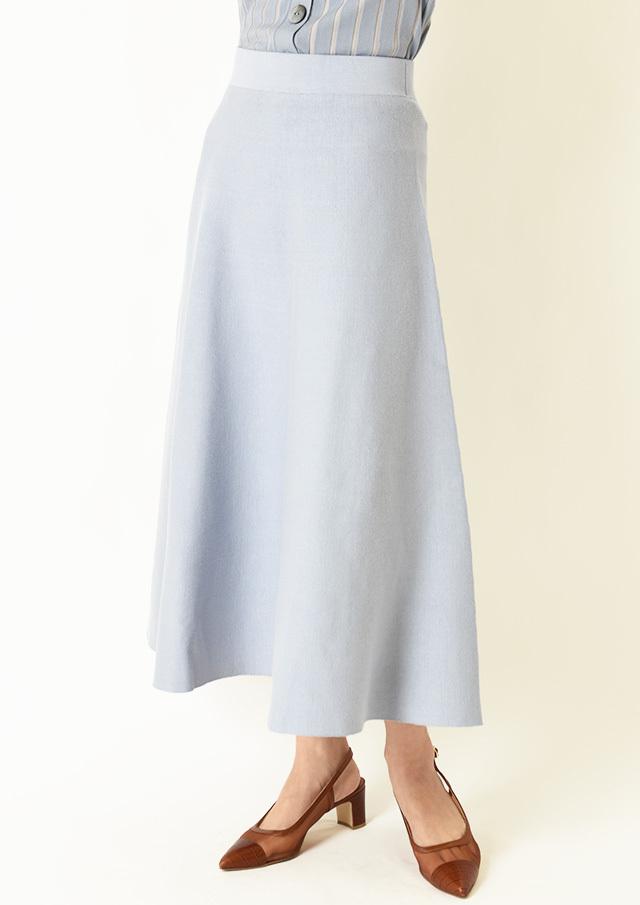 ◆リバーシブルフレアニットスカート【6211-459】【26】