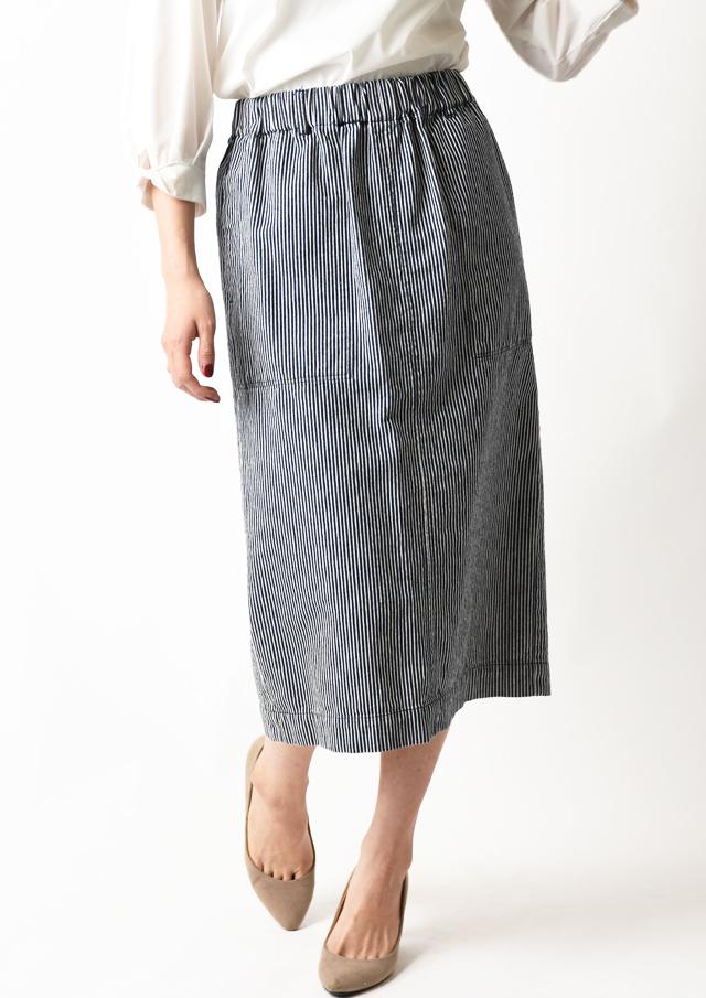 【2020】ヒッコリーストライプタイトスカート【FSARS0241】【26】