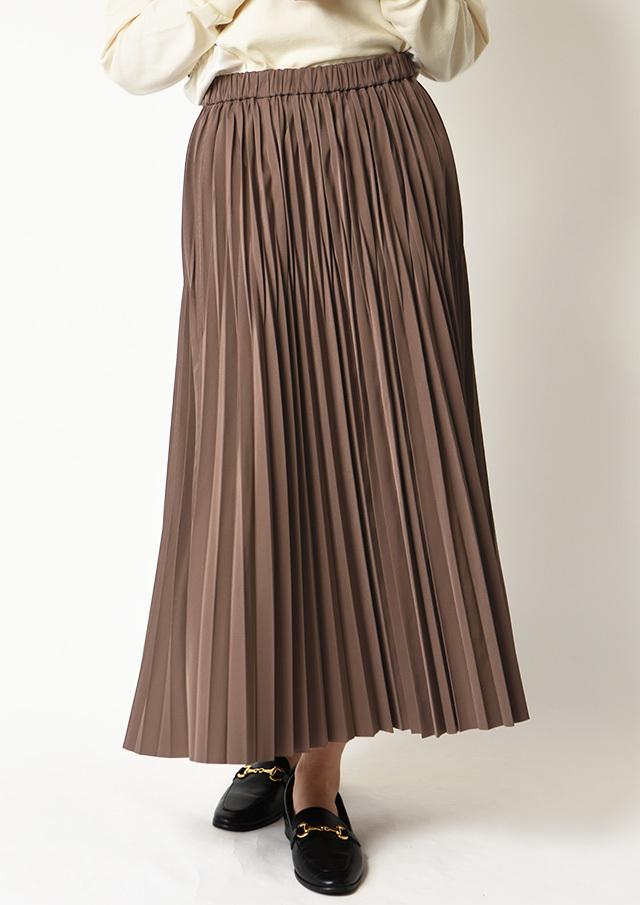 ◆リバーシブルランダムプリーツスカート【H213004077】【80】