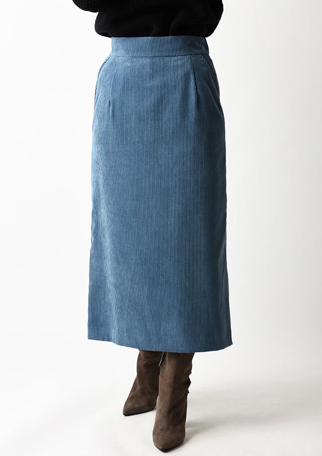 ◆コーデュロイタイトスカート【H27010】【80】