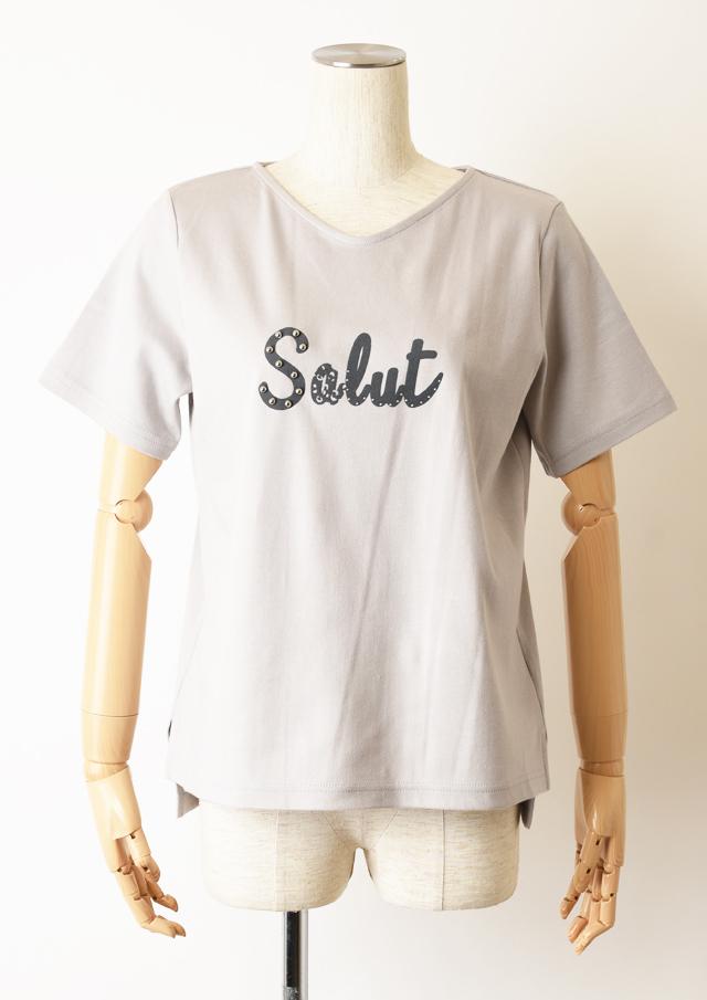 SALE!!【2020】SalutプリントTシャツ【H7011007】【27】