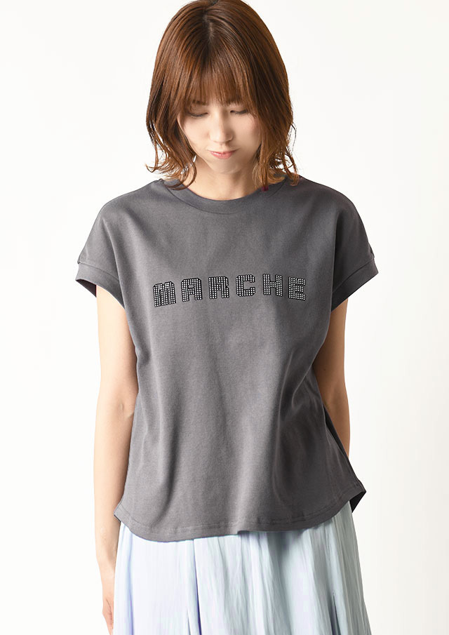 ◆MARCHEロゴTシャツ【H7111005】【27】