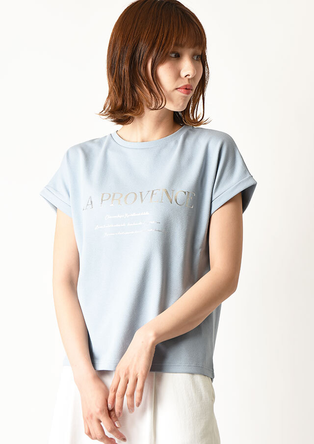 ◆PROVENCEロゴTシャツ【H7111006】【27】