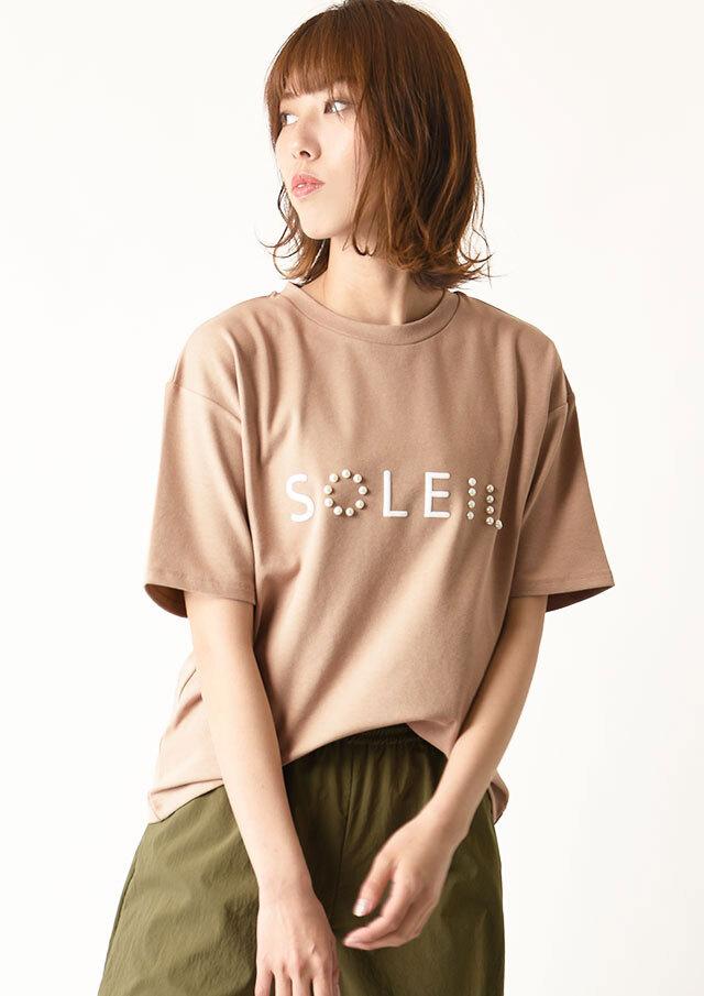 ◆SOLEILロゴTシャツ【H7121002】【27】