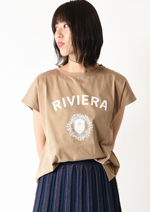 ◆RIVIERAロゴTシャツ【H7121007】【27】